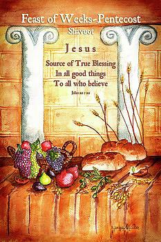 Feast of Weeks - Pentecost by Janis Lee Colon