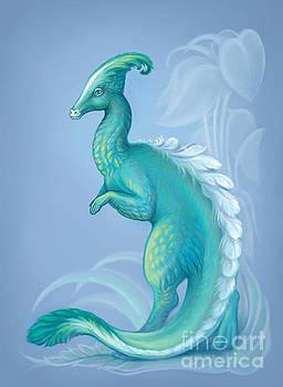 Feathered Dinosaur, Parasaurolophus by Yullapa Yuliya
