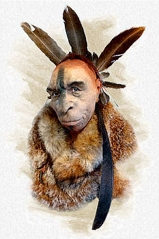 Weston Westmoreland - Feathered Neanderthal