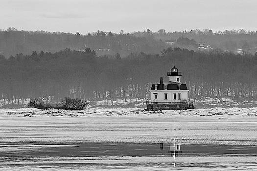 February Morning at Esopus Light by Jeff Severson