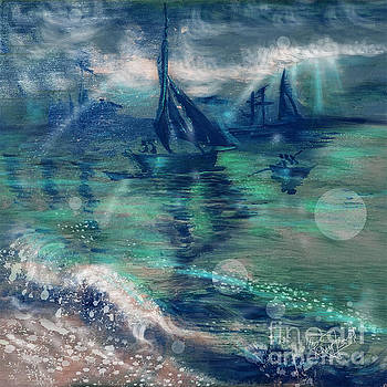 Feng Shui your Life - Lucky Sailing Boat by Remy Francis