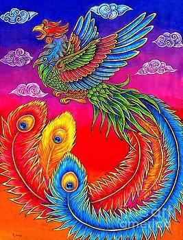 Fenghuang Chinese Phoenix by Rebecca Wang