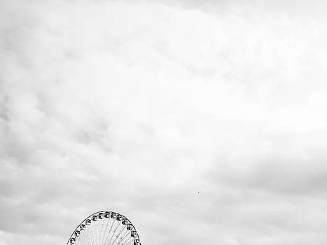 Ferris Wheel Clouds by Whitney Leigh Carlson