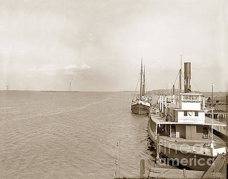 California Views Archives Mr Pat Hathaway Archives - Ferry Boat Frances and Steam Schooner Arctic at Antioch waterfro
