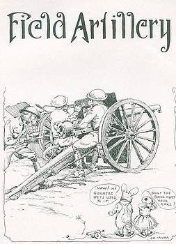 California Views Archives Mr Pat Hathaway Archives - Field Artillery by Jo Mora 1926