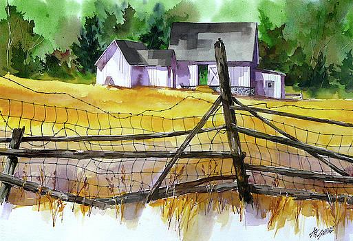 Field Fence by Art Scholz