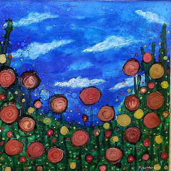 Field of Flowers  by Jennifer Lex Wojnar