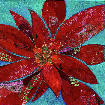 Fiery Bromeliad II by Shadia Derbyshire