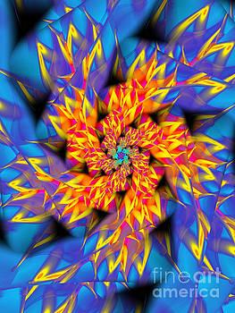 Flame Flower by Galina Lavrova