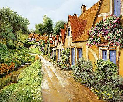 Fila Di Case Inglesi by Guido Borelli