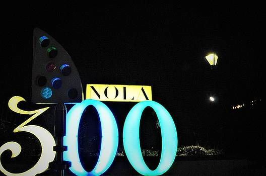 Fine Art America Tony Award Visits The 300th Birthday Sign At Jackson Square In New Orleans by Michael Hoard