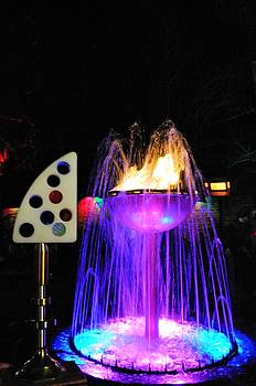 Fine Art America Tony Award Visits The Famous Fountain At Pat O Brians On Bourbon St. In New Orleans by Michael Hoard