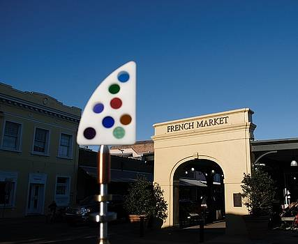 Fine Art America Tony Award Visits The French Market In New Orleans by Michael Hoard