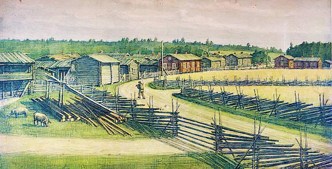 Finnish Rural Landscape by Pekka Liukkonen