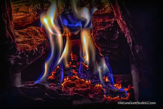Fire Dance by LeeAnn McLaneGoetz McLaneGoetzStudioLLCcom