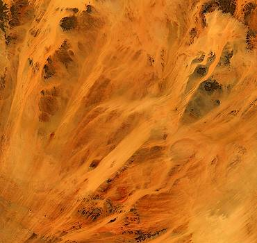 Fire in East Sahel by Planet Impression