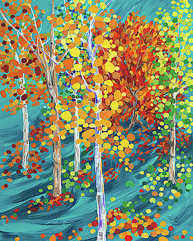 Fire in the Forest by Linda Rauch