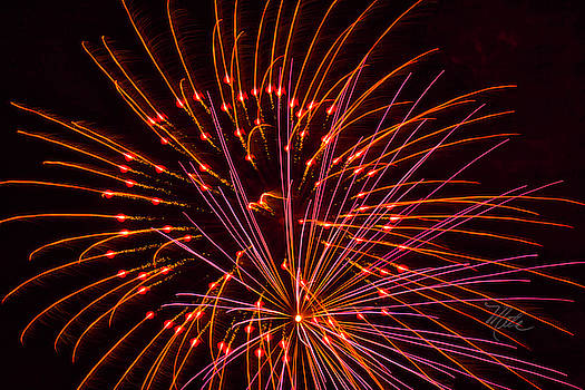 Fireworks Ring Of Fire by Meta Gatschenberger