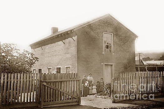 California Views Archives Mr Pat Hathaway Archives - First brick house in California. Built by the Gallant Dickinson