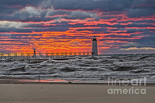 First Day of Fall Sunset by Sue Smith
