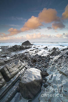 First light, Sandymouth by Colin Roberts