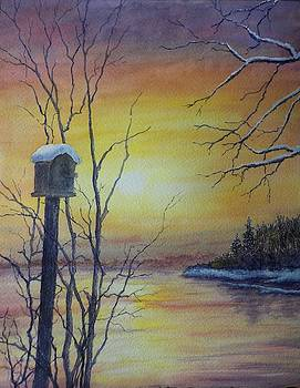 First Snowfall by Carolyn Rosenberger