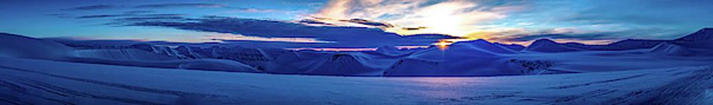First sun after polar night by Kai Mueller
