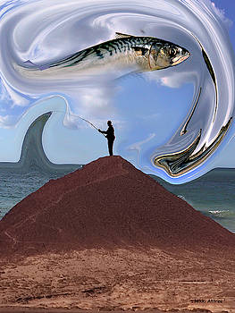 Fish Out Of Water El Medano by Nikki Attree