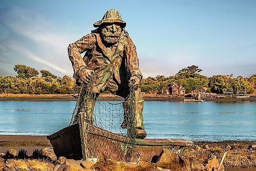 Fisherman Memorial by Bill Gallagher