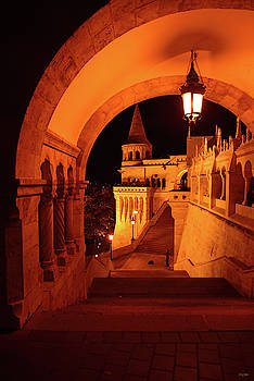 Fisherman's Bastion Budapest by Kathy Yates