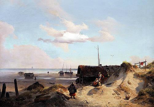 Andreas Achenbach - Fisherman