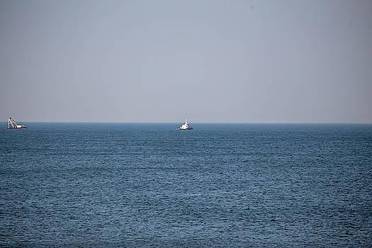 Fishing boat by David Stasiak