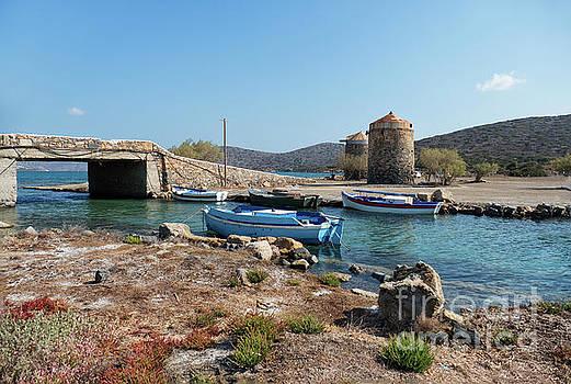 Fishing Boats and Windmills by Lynn Bolt
