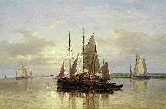 Abraham Hulk Senior - Fishing Boats in Calm Water