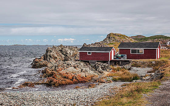 Andrew Wilson - Fishing Stage in Twillingate