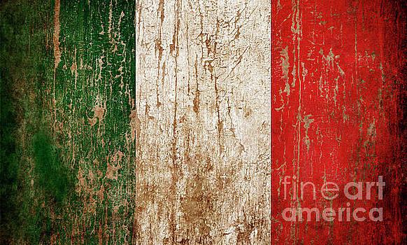 Flag of Italy by Jelena Jovanovic
