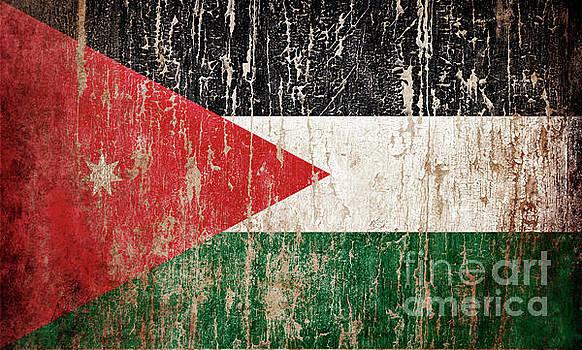 Flag of Jordan by Jelena Jovanovic