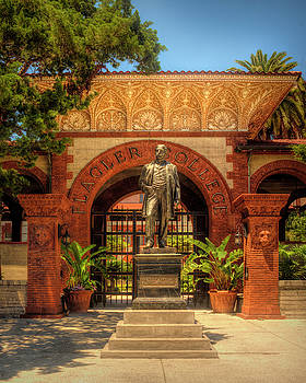 Flagler College Entrance by Mitch Spence