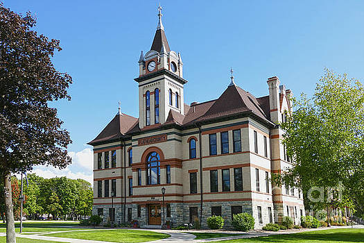 Flathead County Courthouse by Catherine Sherman