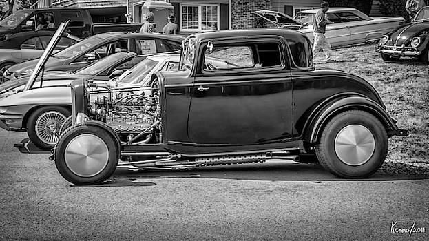 Flathead powered Ford 3 Window Coupe by Ken Morris