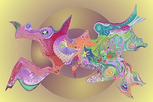 Flight of Evolution v2 by Julia Woodman