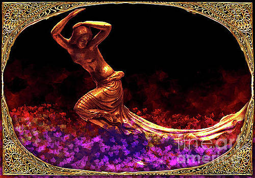 Flight of the Night - Art Nouveau by Lutz Roland Lehn