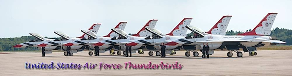 Robert Hayes - Flightline Thunderbirds Panorama