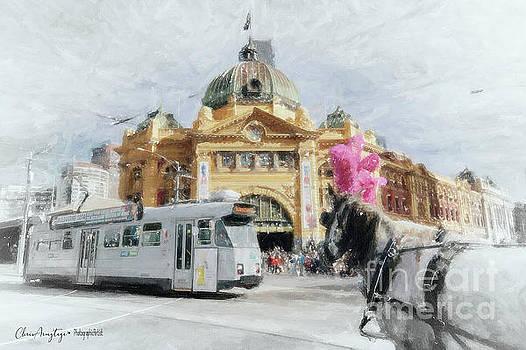 Flinders Street Station, Melbourne by Chris Armytage