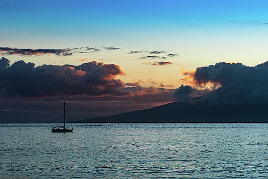 Floating at Sunset by Gaylon Yancy