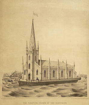 Floating Church of The Redeemer by Dennington