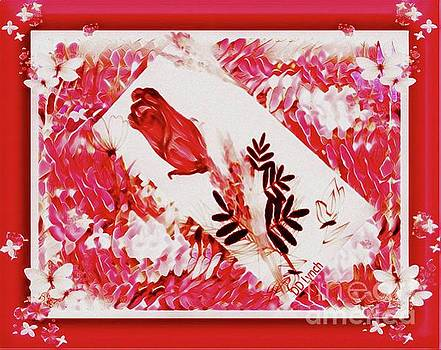 Floating Rose by Debra Lynch