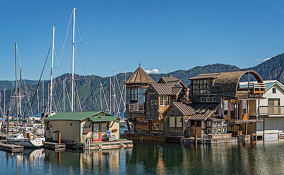 Floating Village by David Sams
