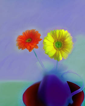 Floral Art 409 by Miss Pet Sitter