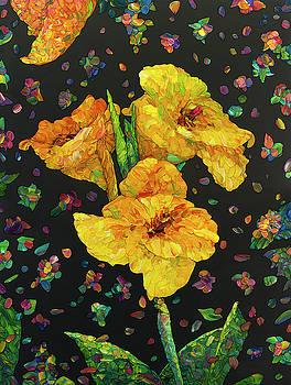 Floral Interpretation - Canna Lily by James W Johnson